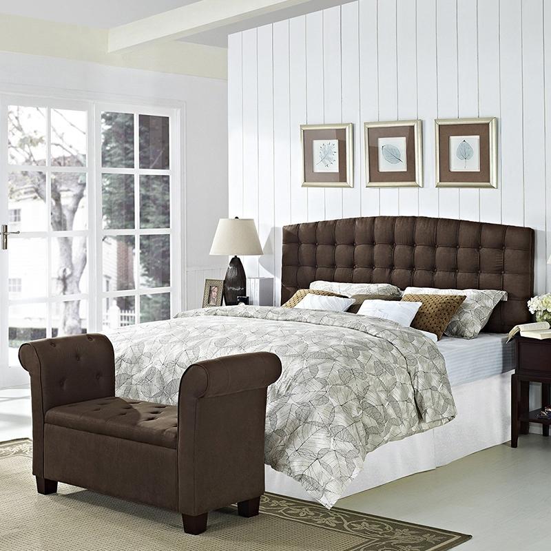 magamistoa polsterdatud headboard modernne stiil king size kangast voodi komplektid