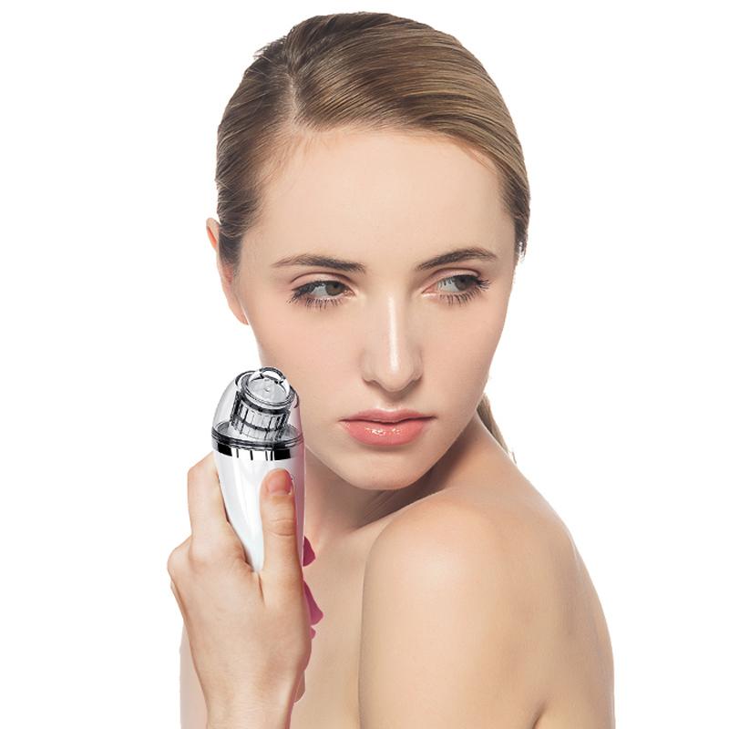 Fholúis Blackhead Remover - Glantóir Pore Leictreach Blackhead Suction Facial Comedo Acne Bhaisc-Bhainne do Mhná u0026 Fir