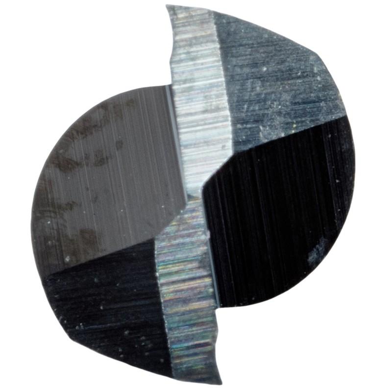 Préimh Deireadh Soladach Carbide End Mill, 2 Fliúit, 1/8